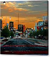Kansas City Evening Canvas Print
