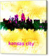 Kansas City Skyline 1 Canvas Print