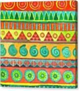 Kapa Patterns 10 Canvas Print