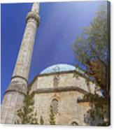Karadoz Bey Mosque, Mostar, Bosnia And Herzegovina Canvas Print