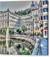 Karlovy Vary Chehia Canvas Print