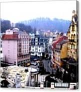 Karlovy Vary Cz Canvas Print