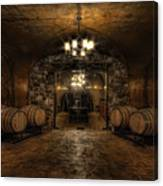 Karma Winery Cave Canvas Print