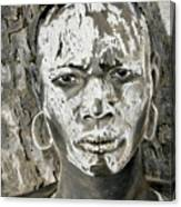 Karo Man Canvas Print