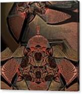 Karuta Canvas Print
