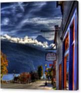 Kaslo At Kootenai Lake Canvas Print