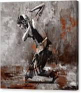 Kathak Dancer A1 Canvas Print