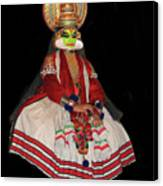 Kathakali Dancer Canvas Print