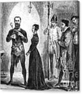 Katharina Kepler, Alleged German Witch Canvas Print