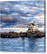 Katland Lighthouse Canvas Print