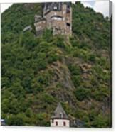 Katz Castle And Village Canvas Print