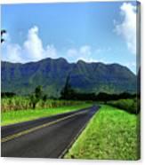 Kauai Countryside Canvas Print