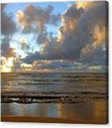 Kauai Sunrise Reflections Canvas Print