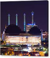 Kauffman Center And Bartle Hall Sky Stations Canvas Print