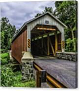 Kaufman Covered Bridge - Pa Canvas Print