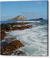 Kaupo Beach Canvas Print