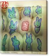 Kawaii Hatchery Canvas Print