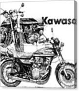 Kawasaki 900 Canvas Print