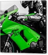 Kawasaki Ninja Zx-6r Canvas Print