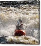 Kayak 5 Canvas Print