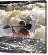 Kayak 6 Canvas Print