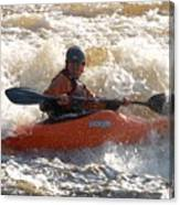 Kayak 9 Just Relax Canvas Print