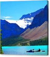 Kayak Heaven Canvas Print