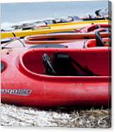 Kayak Ready Canvas Print