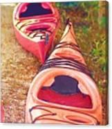 Kayak Time Canvas Print