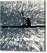 Kayak Zoom Canvas Print