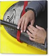Kayakeer Hands Canvas Print