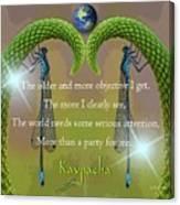 Kaypacha - December 28, 2016 Canvas Print