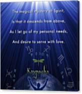 Kaypacha's Mantra 12.9.2015 Canvas Print
