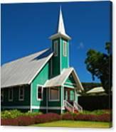Ke Ola Mau Loa Church - Waimea Canvas Print