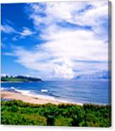 Kealia Beach Canvas Print