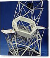 Keck Observatorys Ten Meter Telescope Canvas Print