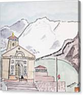 Kedarnath Jyotirling Canvas Print