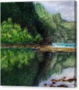 Ke'e Canvas Print