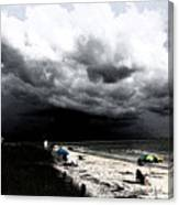 Keep A Weather Eye Canvas Print