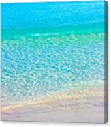 Keep Calm And Listen To The Sea Canvas Print