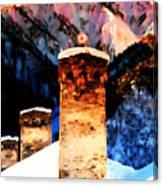 Keeper Of The Light Adishi Svaneti Canvas Print