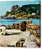 Kefalos, Greece Canvas Print