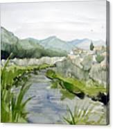 Kennedy Meadows River Canvas Print