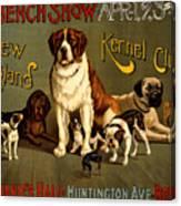 Kennel Club Canvas Print