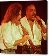 Kenny G-peabo Bryson-95-1376 Canvas Print