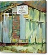 Kenny's Barn Canvas Print