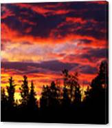Kenosha Pass Sunrise Canvas Print