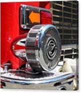 Kensington Fire District Fire Engine Siren . 7d15879 Canvas Print