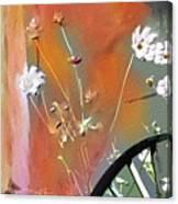 Kensington Market Floral Detail Canvas Print