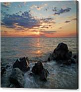 Kent Island Mother's Day Sunset Canvas Print